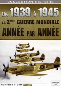 COFFRET 7 DVD DE 1939 A 1945  LA SECONDE GUERRE MONDIALE