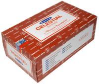 ENCENS NAG CHAMPA - 15 GRS - SATYA - CELESTIAL (LOT DE 12 BOITES) CEL205