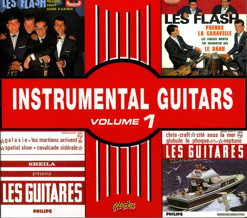 INSTRUMENTAL GUITARS VOL1 - CD