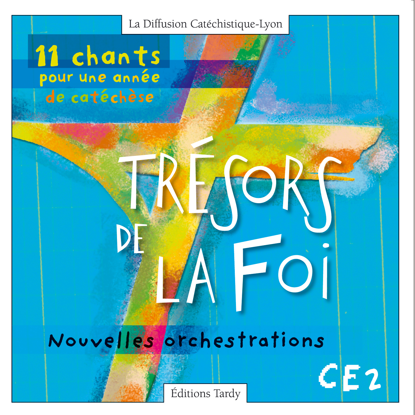 11 CHANTS CATECHESE CD + PARTITIONS CE2 NE 2004