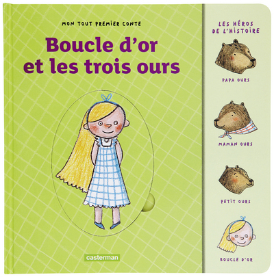 BOUCLE D'OR & LES 3 OURS