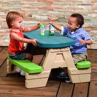 TABLE ET BANCS PLASTIQUE