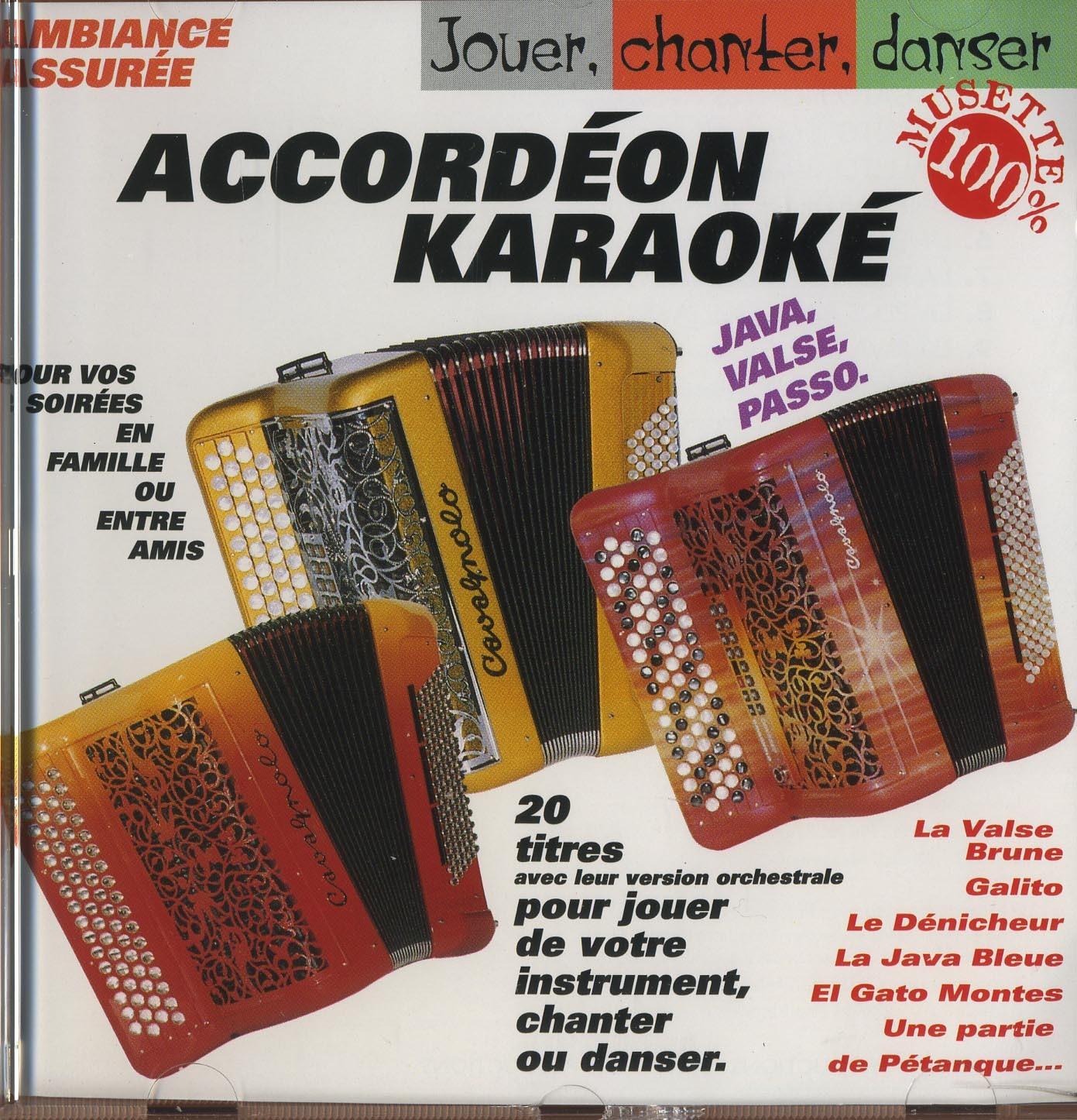 ACCORDEON KARAOKE - CD