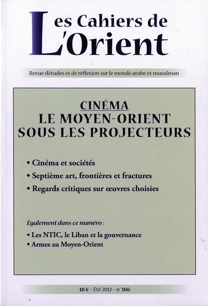 CAHIERS DE L'ORIENT N106