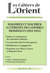 CAHIERS DE L'ORIENT N119