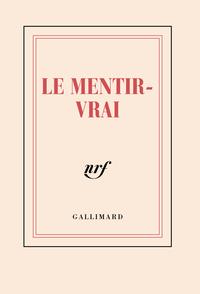 CARNET POCHE  LE MENTIR-VRAI  (PAPETERIE)