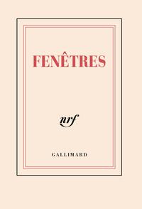 "CARNET POCHE LIGNE ""FENETRES"" (PAPETERIE)"