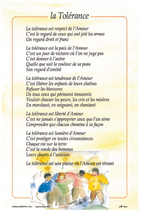 POSTER LA TOLERANCE MIA03