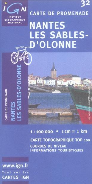AED NANTES/LES SABLES-D'OLONNE 1/100.000