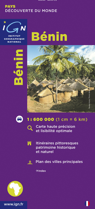 85005 BENIN  1/600.000