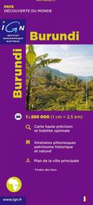 85013 BURUNDI 1/250.000