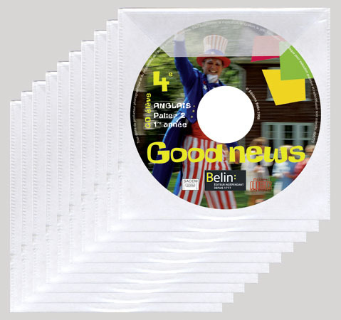 PACK 10 CD GOOD NEWS 4E ELEVE