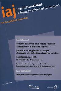 LE DECRET DU 3 FEVRIER 2012 RELATIF A L'HYGIENE, A LA SECURITE ET LA MEDECINE DU