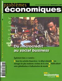 DU MICROCREDIT AU SOCIAL BUSINESS N 3027