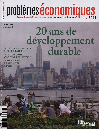 20 ANS DE DEVELOPPEMENT DURABLE N 3044
