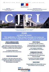 LE DROIT DE SUITE N 63 JANVIER-FEVRIER-MARS 2011