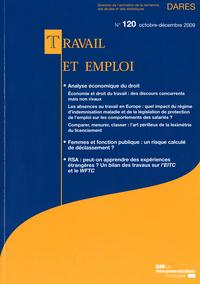 ANALYSE ECONOMIQUE DU DROIT N 120 OCTOBRE-DECEMBRE 2009