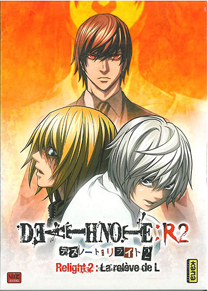 DVD DEATH NOTE RELIGHT V2 - 1 DVD AVEC SURETUI