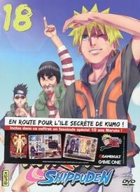 DVD NARUTO SHIPPUDEN VOL 18