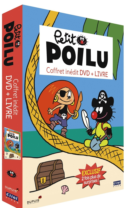 LE PETIT POILU COFFRET DVD + LIVRE