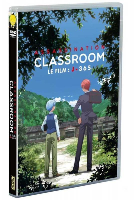ASSASSINATION CLASSROOM LE FILM DVD