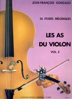 LES AS DU VIOLON VOL.2 --- VIOLON ET PIANO