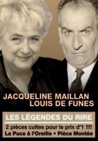 LES LEGENDES DU RIRE VOL 1-DVD  J. MAILLAN ET L. DE FUNES