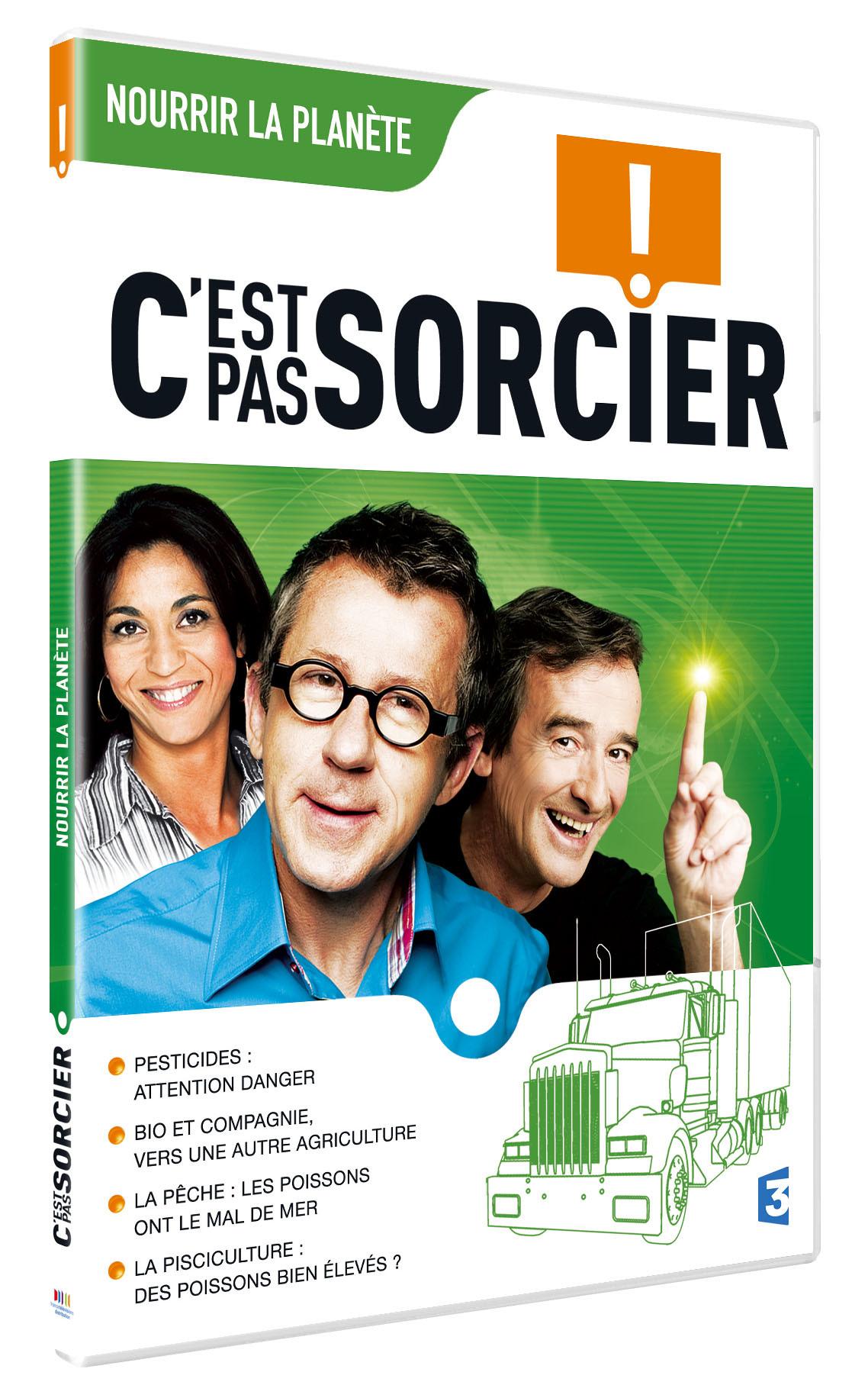 C'EST PAS SORCIER - NOURRIR LA PLANETE - DVD