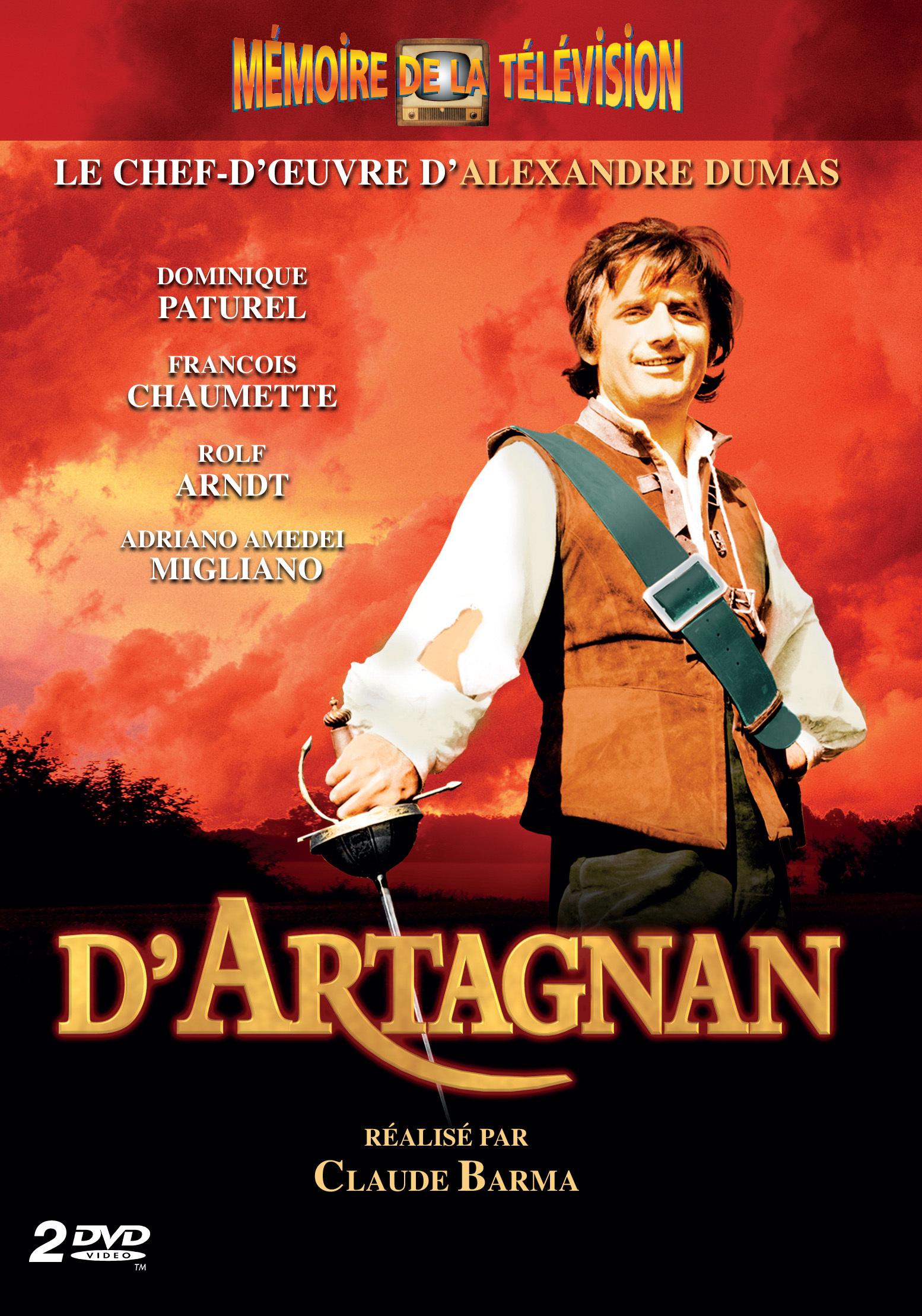 D'ARTAGNAN - 2 DVD