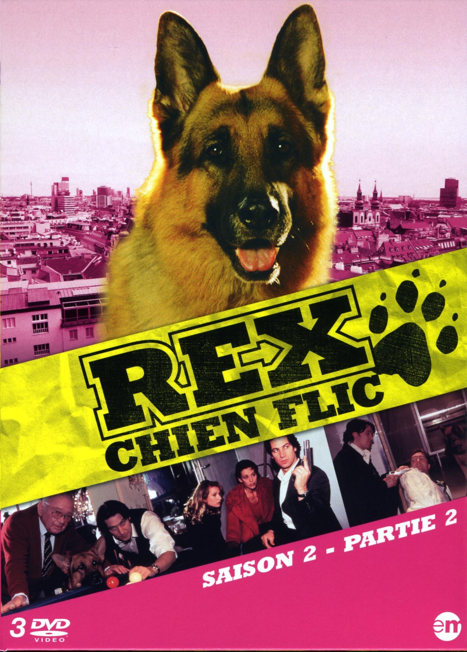 REX CHIEN FLIC S2 P2 - 3 DVD