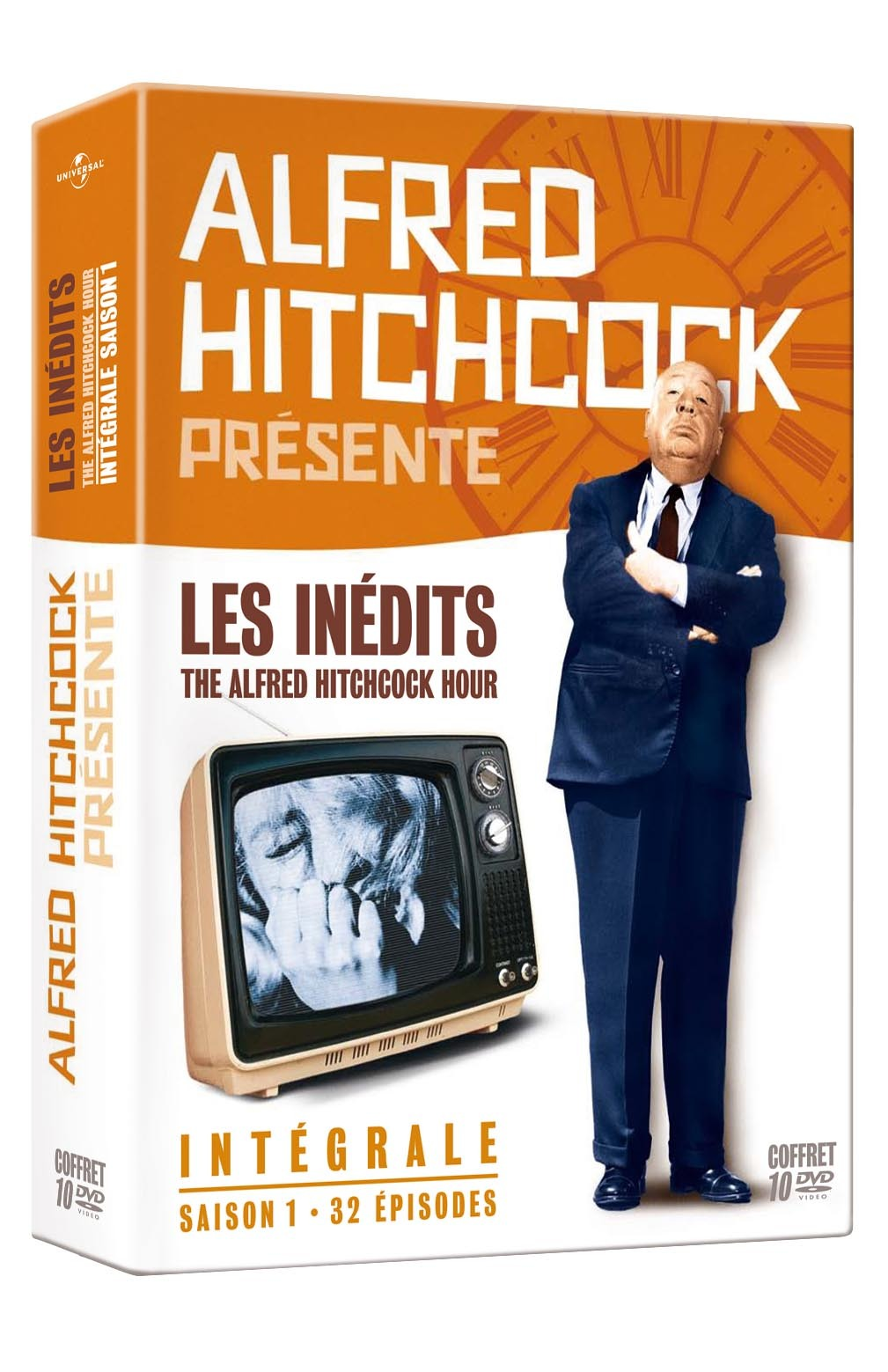 ALFRED HITCHCOCK LES INEDITS - INTEGRALE S1 - 10 DVD