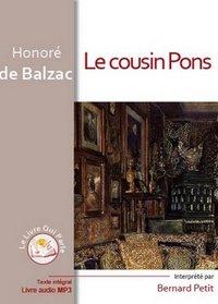 LE COUSIN PONS / 1 CD MP3