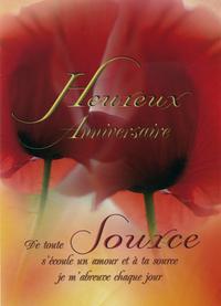 LOT DE 5 CARTES - HEUREUX ANNIVERSAIRE 03