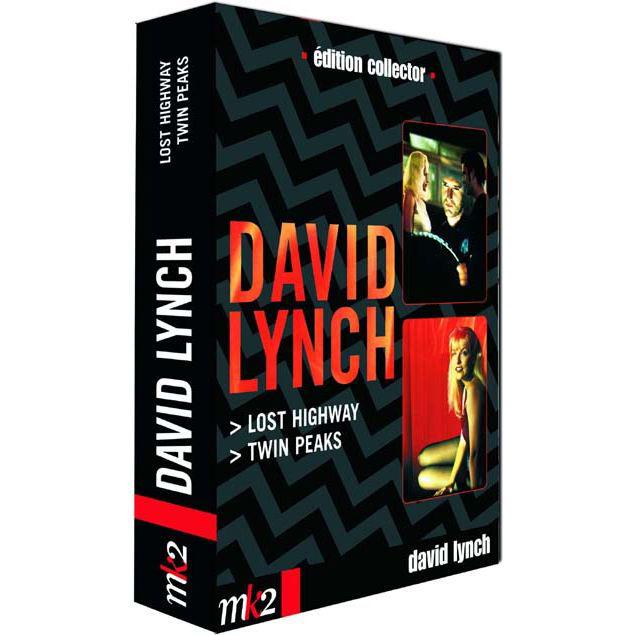 DAVID LYNCH - LOST HIGHWAY - TWIN PEAKS - DVD