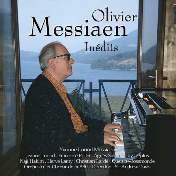 OLIVIER MESSIAEN - INEDITS - CD