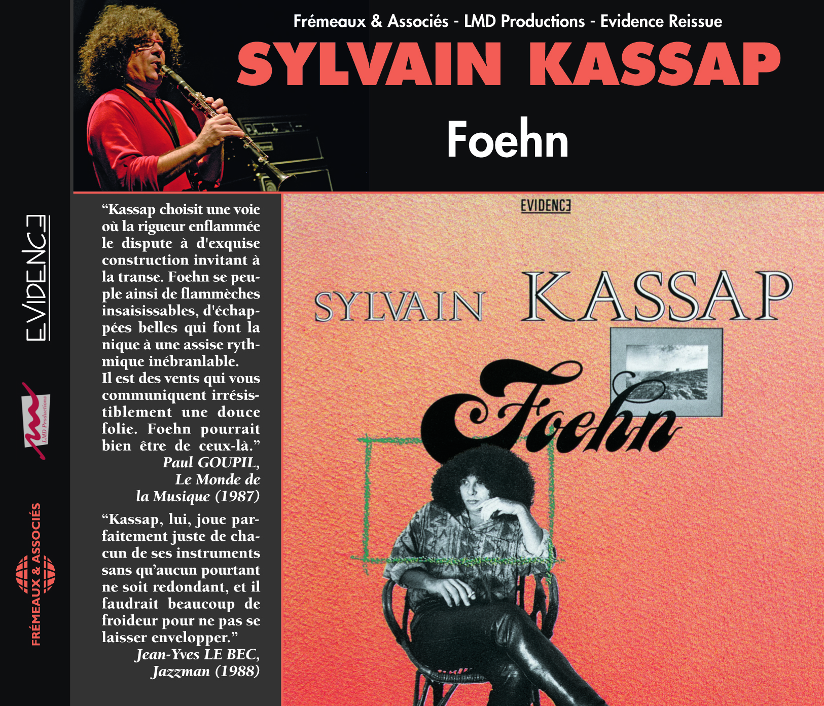 FOEHN CD AUDIO DE SYLVAIN KASSAP