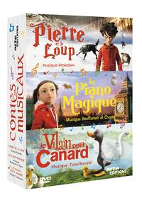 PIERRE ET LE LOUP-PIANO MAGIQUE-VILAIN PETIT CANARD - 3 DVD