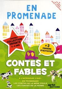 COFFRET CONTES ET FABLES - 3 DVD