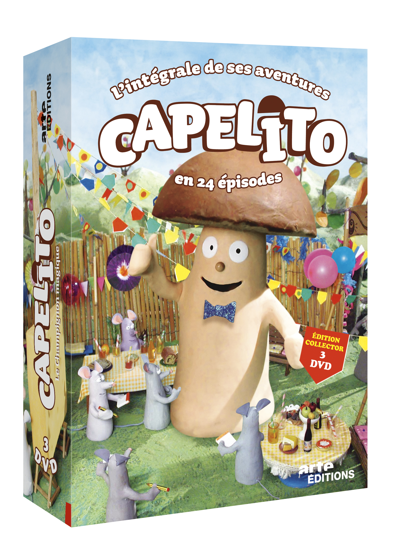 CAPELITO INTEGRALE V1 V2 V3 - 3 DVD