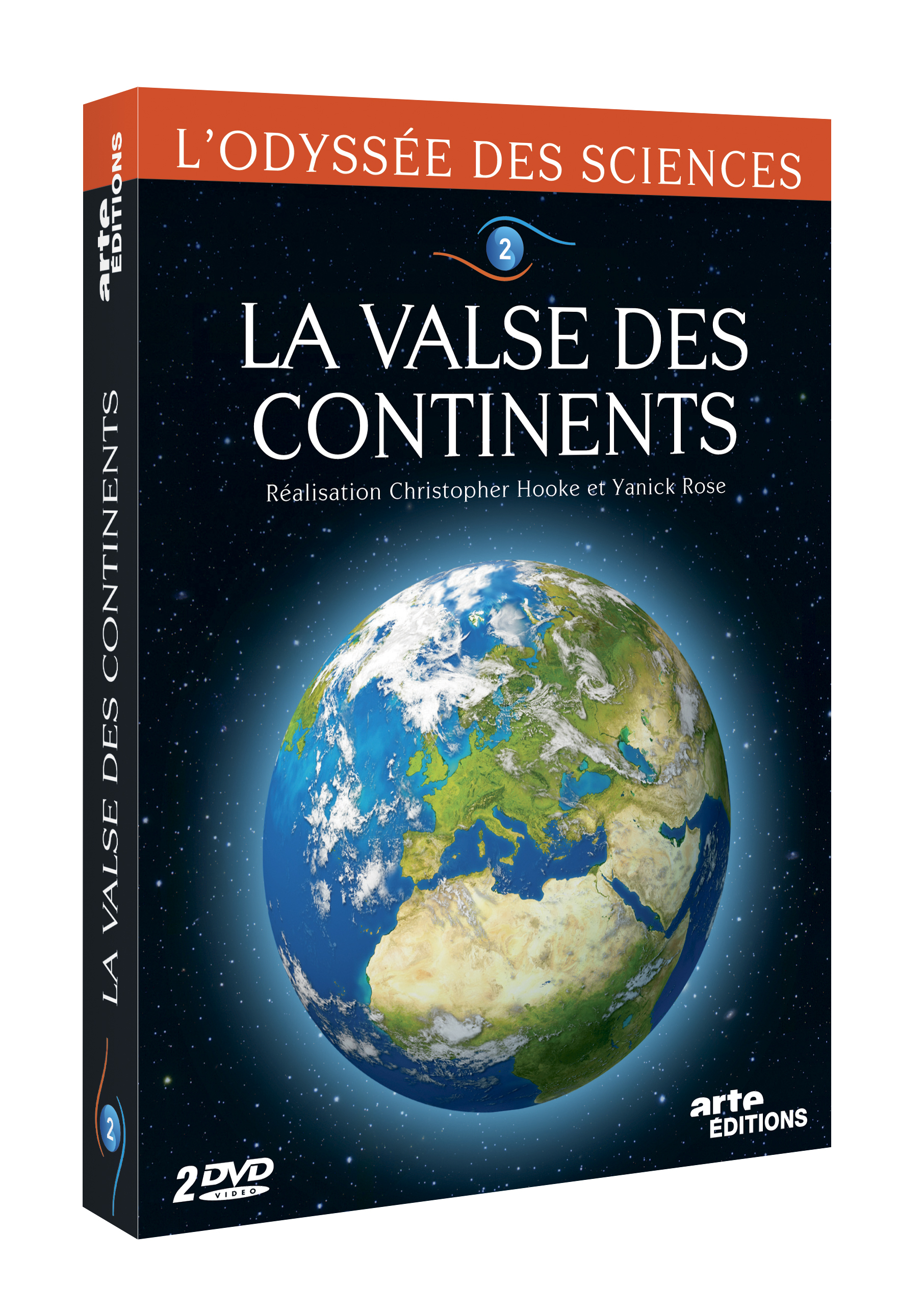 VALSE DES CONTINENTS - ODYSSEE DES SCIENCES V1 - 2 DVD