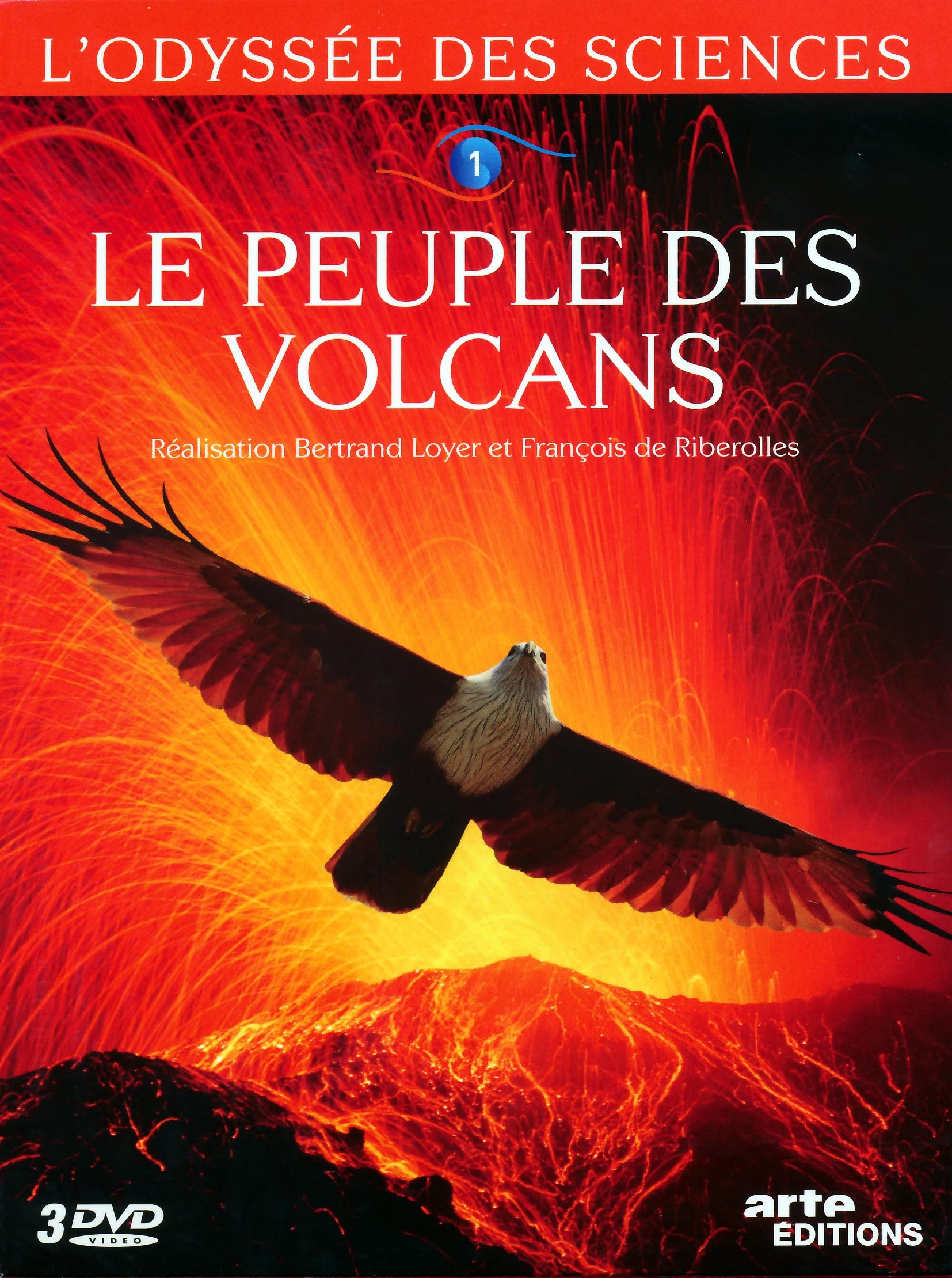 PEUPLE DES VOLCANS - ODYSSEE DES SCIENCES V1 - 2 DVD