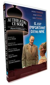 IL EST IMPORTANT D'ETRE AIME - AU THEATRE CE SOIR - DVD