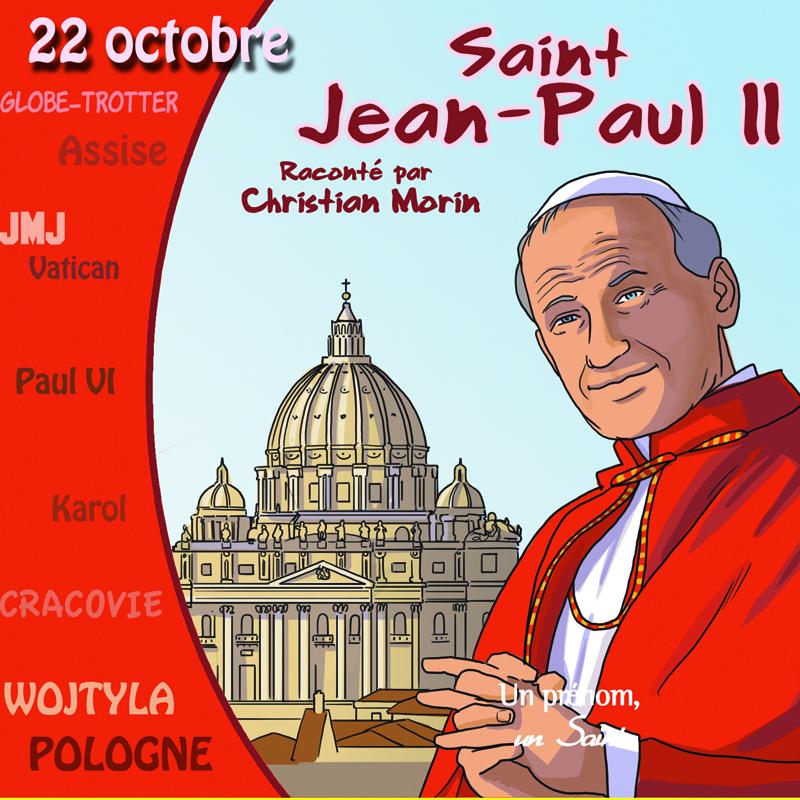 JEAN-PAUL II RACONTE PAR CHRISTIAN MORIN (LIVRE AUDIO)