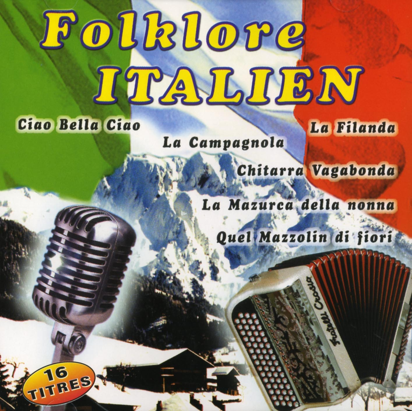 FOLKLORE ITALIEN - CD