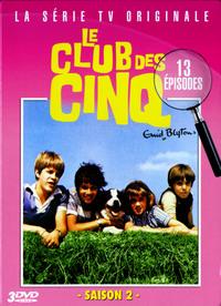 LE CLUB DES CINQ VOL 2 - 3 DVD