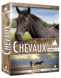 COFFRET LES CHEVAUX S1 ET S2 - 8 DVD