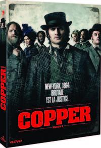 COPPER S2 - 4 DVD