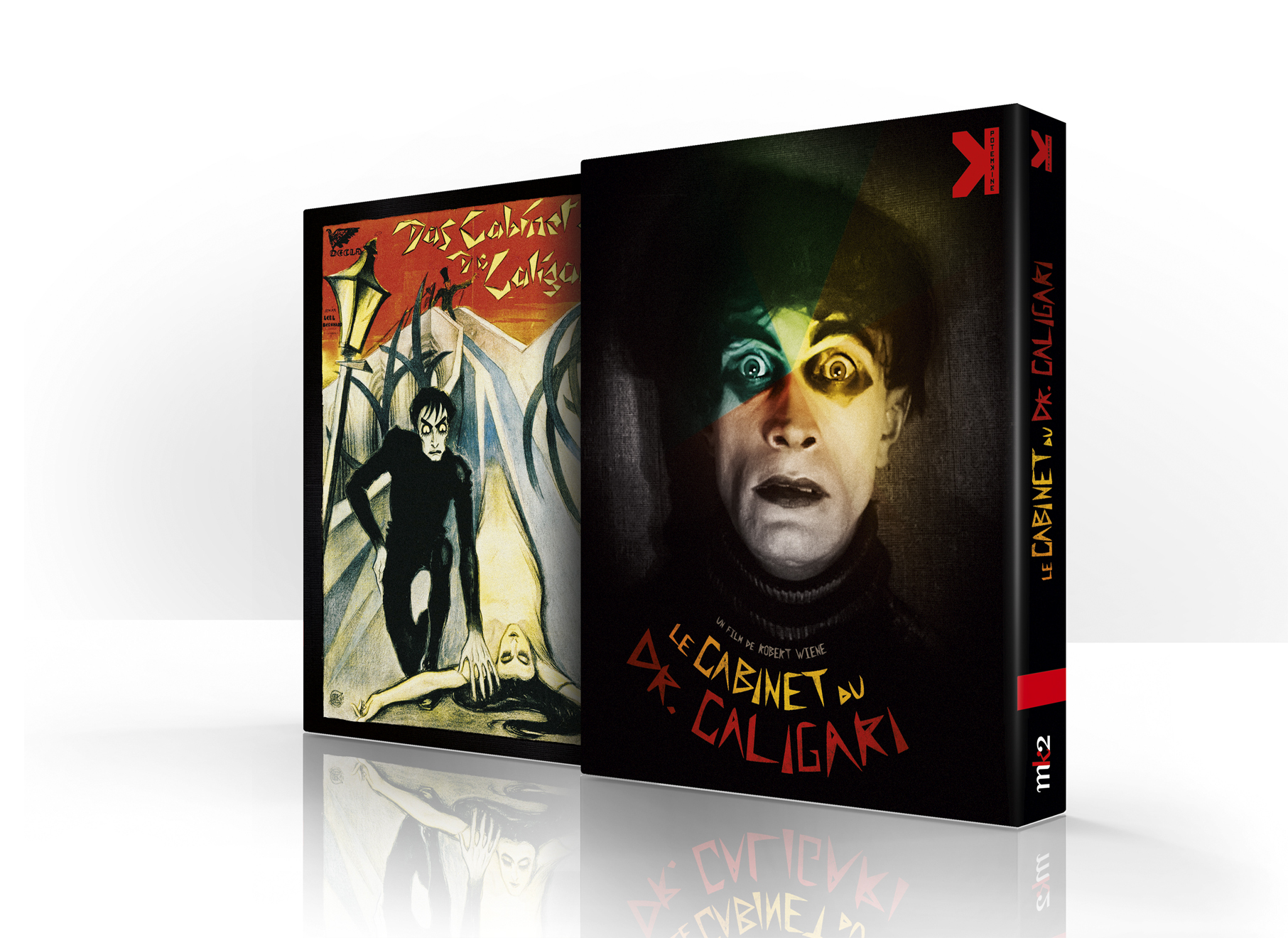 CABINET DU DR CALIGARI - COMBO DVD + BLU-RAY