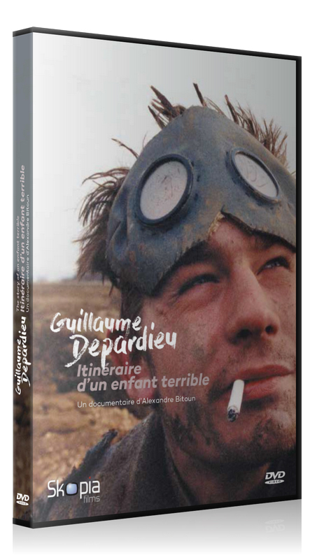 GUILLAUME DEPARDIEU - ITINERAIRE D'UN ENFANT TERRIBLE - DVD