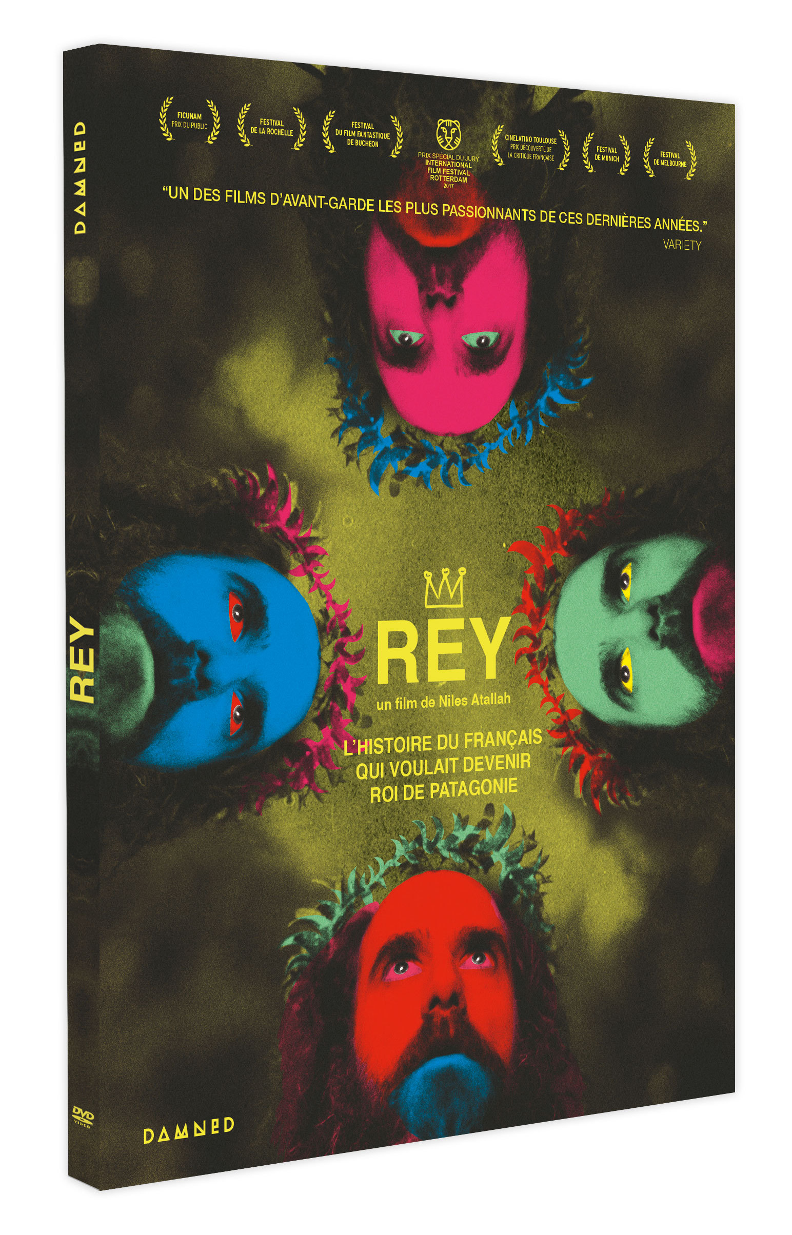 REY L'HISTOIRE DU FRANCAIS QUI VOULAIT DEVENIR ROI DE PATAGONIE - DVD